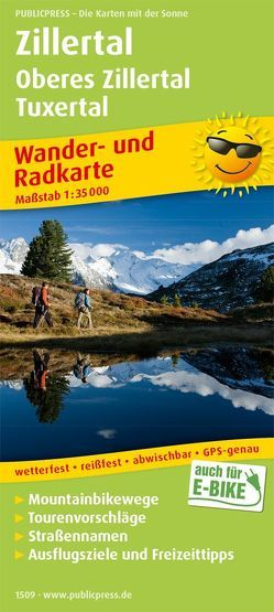 Zillertal – Oberes Zillertal, Tuxertal