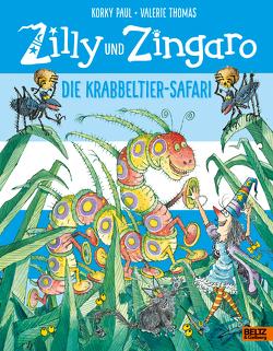 Zilly und Zingaro. Die Krabbeltier-Safari von Guenther,  Herbert, Günther,  Ulli, Paul,  Korky, Thomas,  Valerie