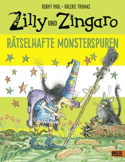 Zilly und Zingaro. Rätselhafte Monsterspuren von Guenther,  Herbert, Günther,  Ulli, Paul,  Korky, Thomas,  Valerie
