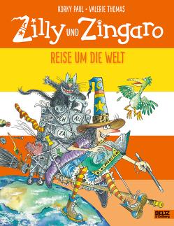 Zilly und Zingaro. Reise um die Welt von Guenther,  Herbert, Günther,  Ulli, Paul,  Korky, Thomas,  Valerie
