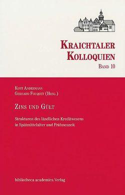 Zins und Gült von Andermann,  Kurt, Fouquet,  Gerhard