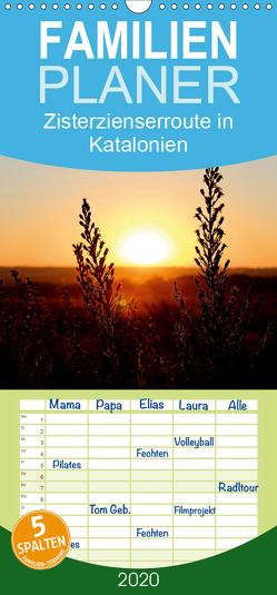 Zisterzienserroute in Katalonien – Familienplaner hoch (Wandkalender 2020 , 21 cm x 45 cm, hoch) von photography [Daniel Slusarcik],  D.S
