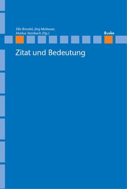Zitat und Bedeutung von Brendel,  Elke, Meibauer,  Jörg, Steinbach,  Markus