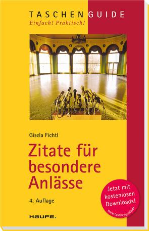 Zitate für besondere Anlässe von Fichtl,  Gisela