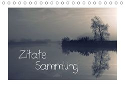 Zitate – Sammlung (Tischkalender 2018 DIN A5 quer) von Adam,  Ulrike