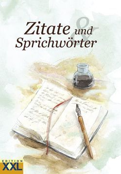 Zitate und Sprichwörter in Großschrift