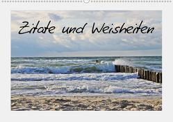 Zitate und Weisheiten (Wandkalender 2020 DIN A2 quer) von Neuhof,  Mandy