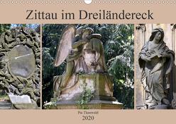 Zittau im Dreiländereck (Wandkalender 2020 DIN A3 quer) von Thauwald,  Pia
