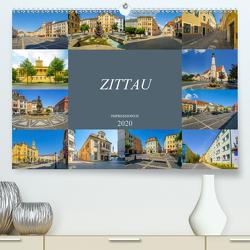 Zittau Impressionen (Premium, hochwertiger DIN A2 Wandkalender 2020, Kunstdruck in Hochglanz) von Meutzner,  Dirk