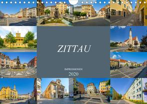 Zittau Impressionen (Wandkalender 2020 DIN A4 quer) von Meutzner,  Dirk