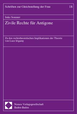 Zivile Rechte für Antigone von Sommer,  Imke