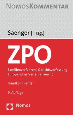 Zivilprozessordnung von Saenger,  Ingo