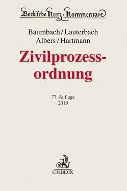 Zivilprozessordnung von Albers,  Jan, Baumbach,  Adolf, Hartmann,  Peter, Lauterbach,  Wolfgang, Schmidt,  Uwe