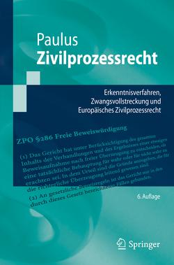 Zivilprozessrecht von Paulus,  Christoph G.