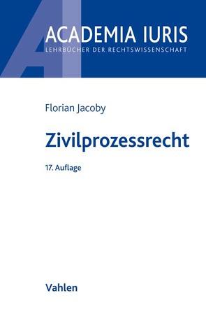 Zivilprozessrecht von Baur,  Fritz, Grunsky,  Wolfgang, Jacoby,  Florian
