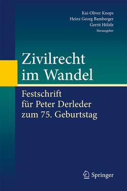 Zivilrecht im Wandel von Bamberger,  Heinz Georg, Hölzle,  Gerrit, Knops,  Kai-Oliver