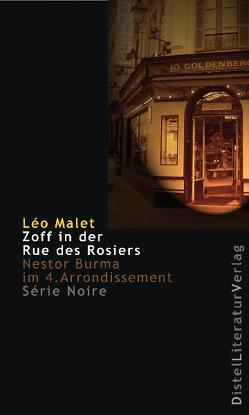 Zoff in der Rue des Rosiers von Grän,  Katarina, Malet,  Léo