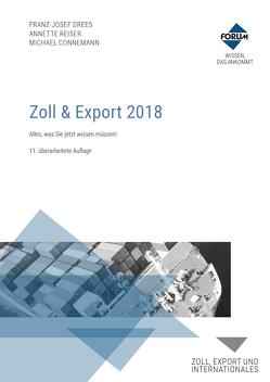 Zoll & Export 2019 von Connemann,  Michael, drees, Reiser,  Annette