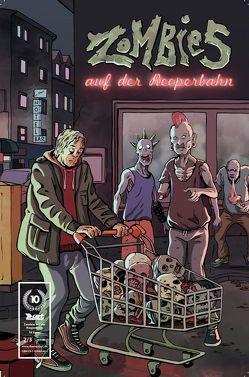 Zombies auf der Reeperbahn von Mantel,  Till