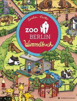 Zoo Berlin Wimmelbuch von Görtler,  Carolin