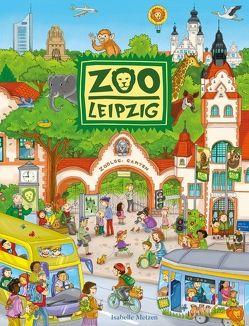 Zoo Leipzig Riesenwimmelbuch von Metzen,  Isabelle