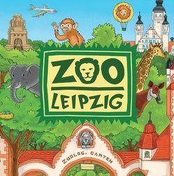 Zoo Leipzig Wimmelmalbuch von Metzen,  Isabelle