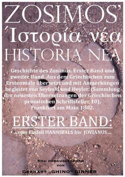 ZOSIMOS' HISTORIA NEA / ZOSIMOS' HISTORIA NEA I. von Zosimos,  Professor