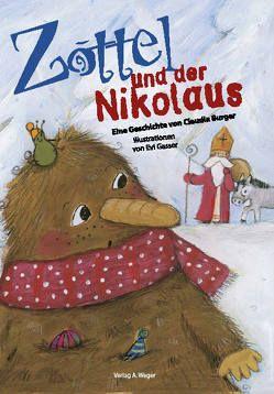 Zottel und der Nikolaus von Burger,  Claudia, Gasser,  Evi