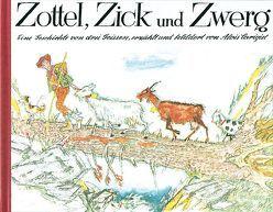 Zottel, Zick und Zwerg, Mini von Carigiet,  Alois