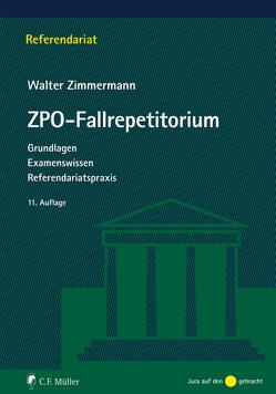 ZPO-Fallrepetitorium von Zimmermann,  Walter