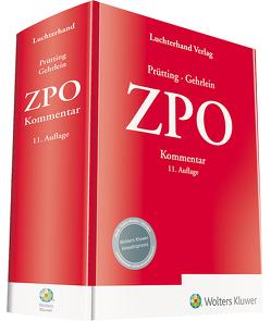ZPO Kommentar von Gehrlein,  Prof. Dr. Markus, Prütting,  Prof. Dr. Hanns
