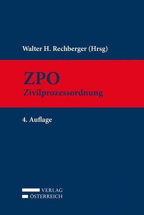 ZPO von Rechberger,  Walter H