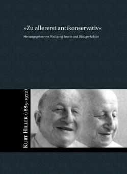 Zu allererst antikonservativ von Beutin,  Wolfgang, Schütt,  Rüdiger