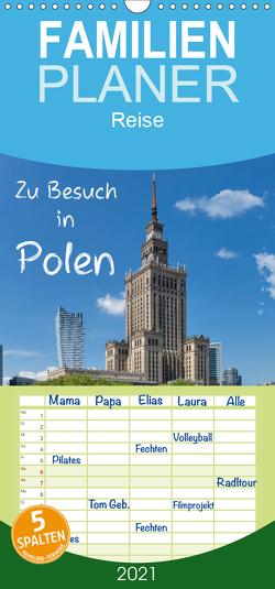 Zu Besuch in Polen – Familienplaner hoch (Wandkalender 2021 , 21 cm x 45 cm, hoch) von Kirsch,  Gunter