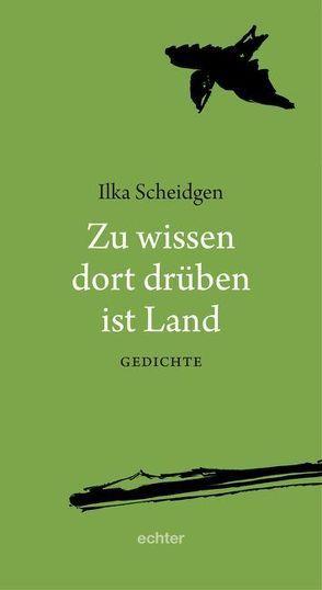 Zu wissen dort drüben ist Land von Scheidgen,  Heinrich Ernst, Scheidgen,  Ilka