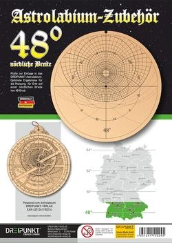 Zubehör-Platte 48° (für Astrolabium)