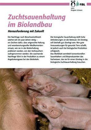 Zuchtsauenhaltung im Biolandbau