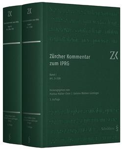 Zürcher Kommentar zum IPRG von Müller-Chen,  Markus, Widmer Lüchinger,  Corinne