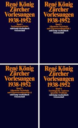 Zürcher Vorlesungen (1938-1952) von Griesbacher,  Martin, Koenig,  Rene, Moebius,  Stephan