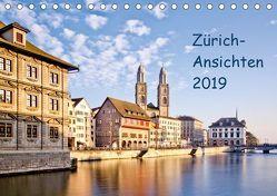Zürich-Ansichten 2019CH-Version (Tischkalender 2019 DIN A5 quer) von Jaenecke,  Sven