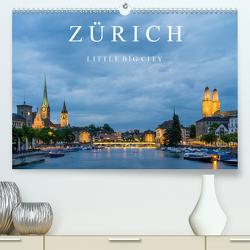 ZÜRICH – Little Big City (Premium, hochwertiger DIN A2 Wandkalender 2020, Kunstdruck in Hochglanz) von Caccia,  Enrico