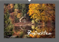 Zufluchten (Wandkalender 2021 DIN A3 quer) von N.,  N.