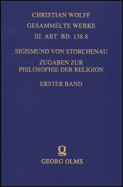 Zugaben zur Philosophie der Religion von Storchenau,  Sigismund von