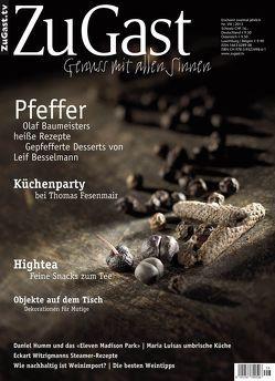 ZuGast Ausgabe 8 von Schinharl,  Michael, Wolf,  Regula