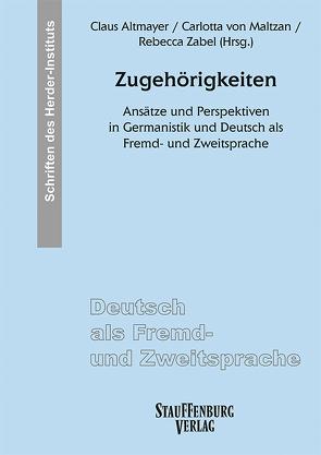 Zugehörigkeiten von Altmayer,  Claus, von Maltzan,  Carlotta, Zabel,  Rebecca