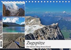 Zugspitze – Der höchste Berg Deutschlands (Tischkalender 2019 DIN A5 quer) von TakeTheShot