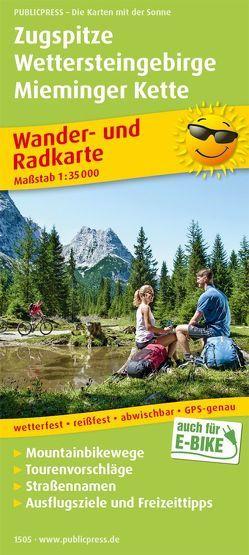 Zugspitze – Wettersteingebirge – Mieminger Kette