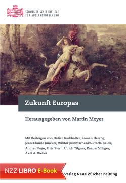 Zukunft Europas von Meyer,  Martin