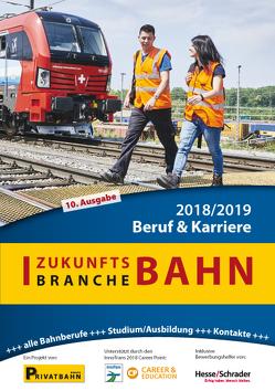 Zukunftsbranche Bahn Beruf & Karriere 2018/2019 von Höft,  Prof. Dr. Uwe, Wiechel-Kramüller,  Christian