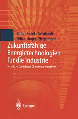 Zukunftsfähige Energietechnologien für die Industrie von Gernhardt,  Dirk, Mohr,  Markus, Skiba,  Martin, Thalheim,  Y., Unger,  Hermann, Ziegelmann,  Arko, Ziolek,  Andreas